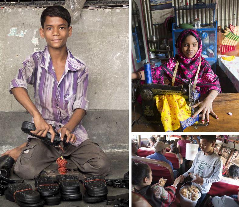 Foto artículo:Educo urge a los gobiernos a garantizar que ningún niño o niña trabaje antes de finalizar la educación obligatoria