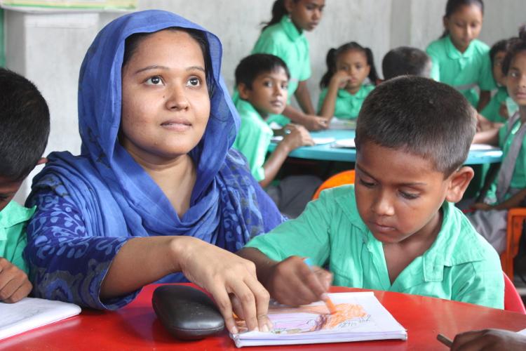 Escuela  de Educo en Dhaka