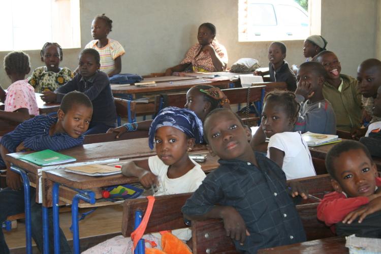 escuela en Ségou Malí