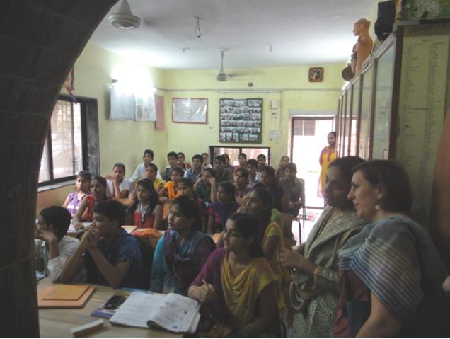 Aula preparación examen secundaria_Govandi_Mumbai