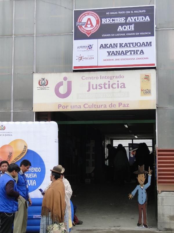 Centro Integrado de Justicia de Max Paredes en La Paz