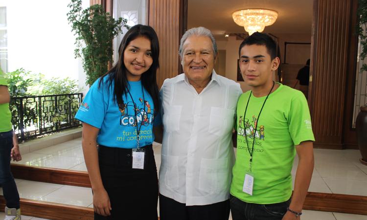 recepción-presidente-El-Salvador-Consejo-Consultivo-NNA