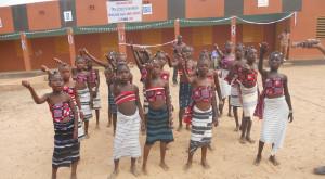 Inauguración de la escuela B de Rikou