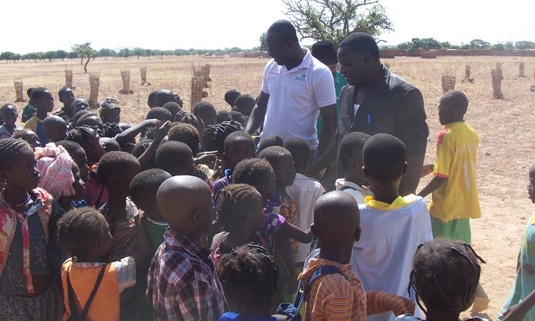 Inauguración escuela Koumbri_Burkina Faso