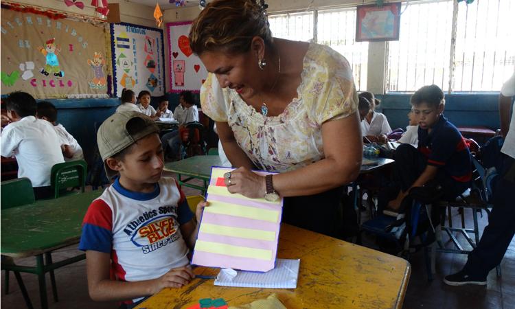 Flor persigue potenciar las capacidades de cada uno de sus alumnos