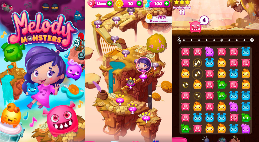 antes-candy-crush-ahora-melody-monster-2