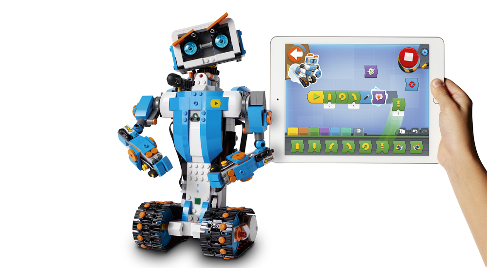 Lego Boost- Un kit para construir robots con piezas de Lego-2
