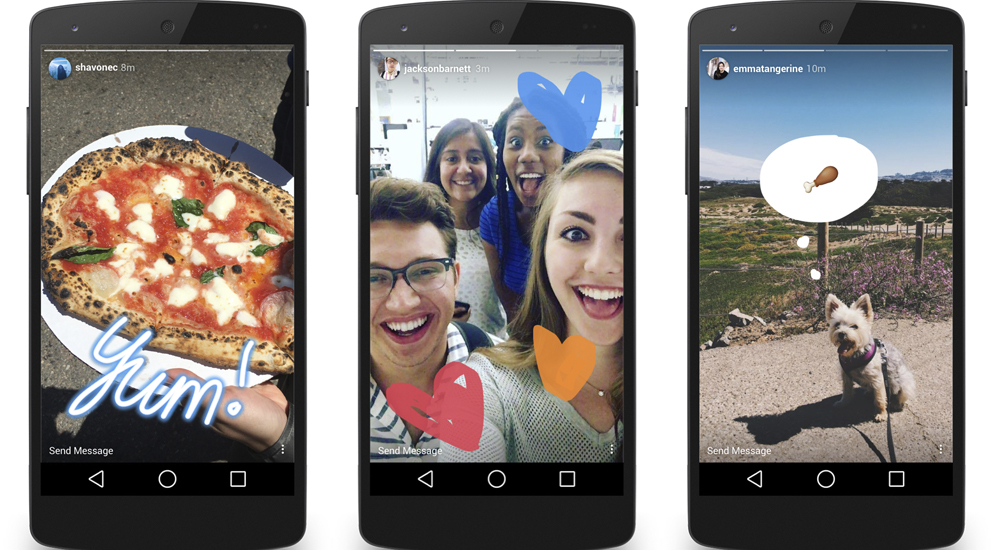 como funciona Instagram Stories padres-interior