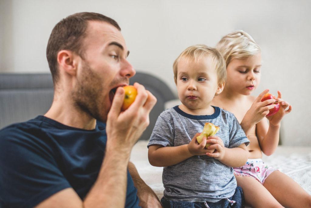 Guía de alimentación equilibrada infantil