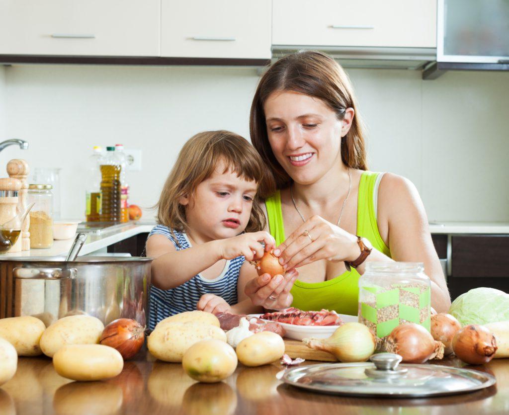 Alimentación infantil: alimentos recomendados en invierno