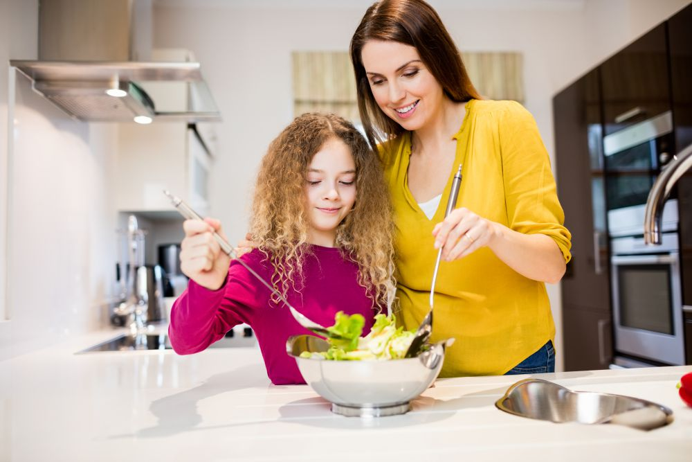 Enseñar a los niños a comer bien
