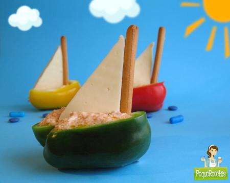 Recetas de verano para niños: ensalada barco