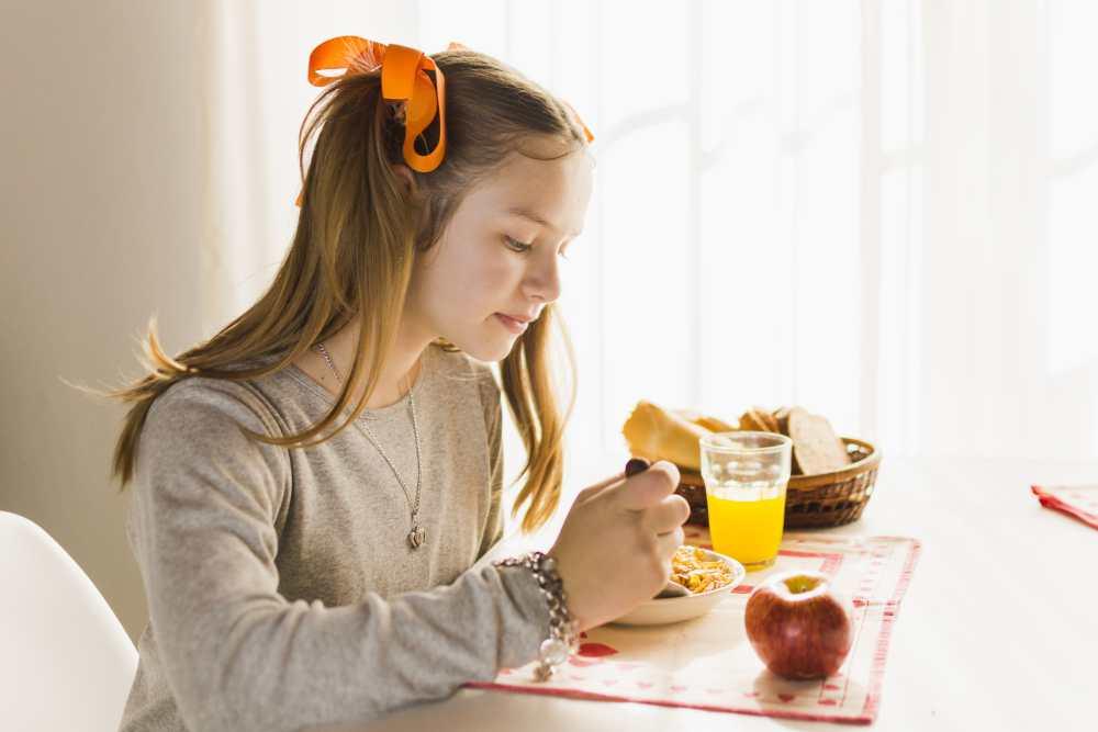 Hábitos de alimentación equilibrada para niños
