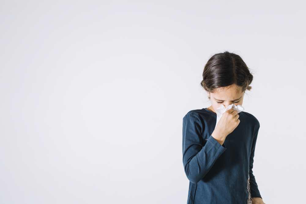 Síntomas del resfriado en niños