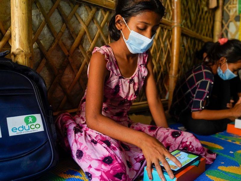 La gamificación se asienta en el campo de refugiados de Cox´s Bazar