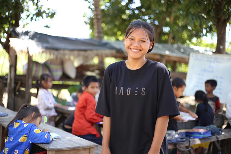Foto de la entrada:Jóvenes comprometidos con la infancia camboyana