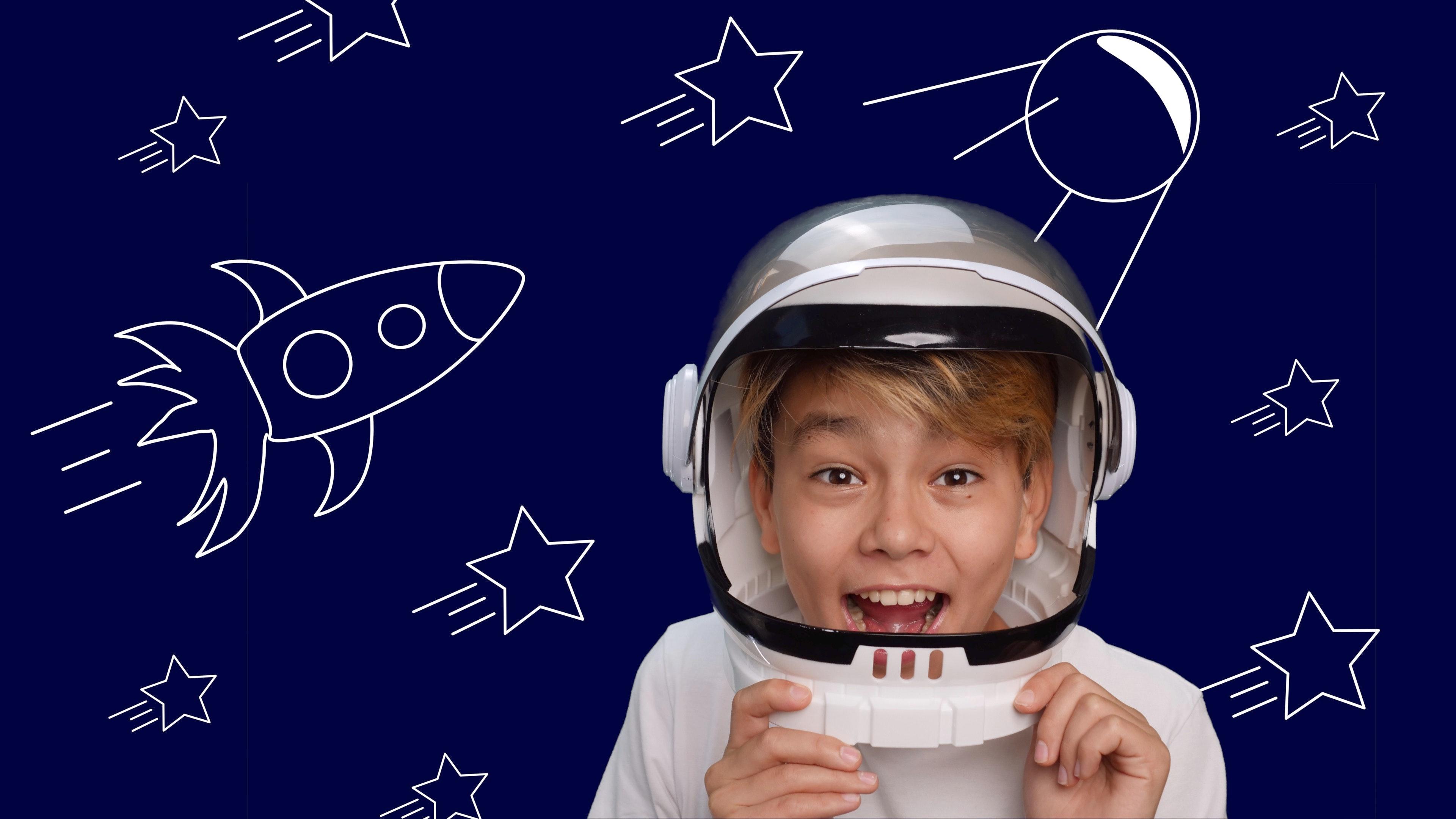 Foto de la entrada:Cómo hacer manualidades para pequeños astronautas