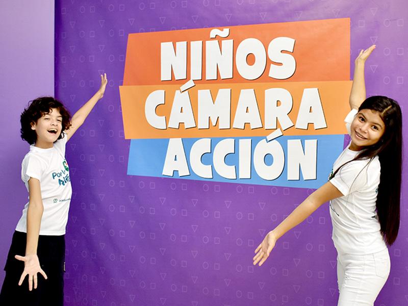 Foto de la entrada:Niños, cámara… ¡acción!