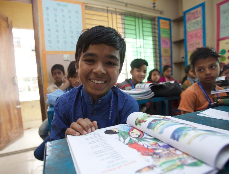 Foto El derecho a la educación de los niños y niñas está en juego en la era covid-19