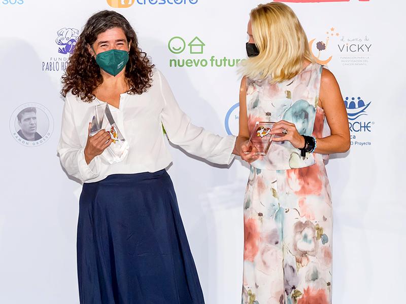 Foto noticia:Educo recibe el premio de Cooperación 'Euros de tu Nómina' del Banco Santander