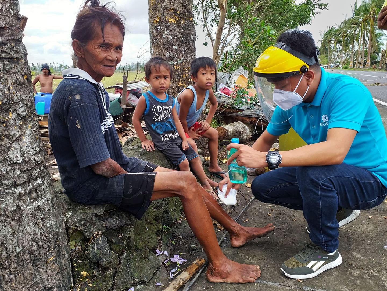 Foto El cambio climático agudiza las crisis humanitarias, pero no puede con el corazón sus trabajadores