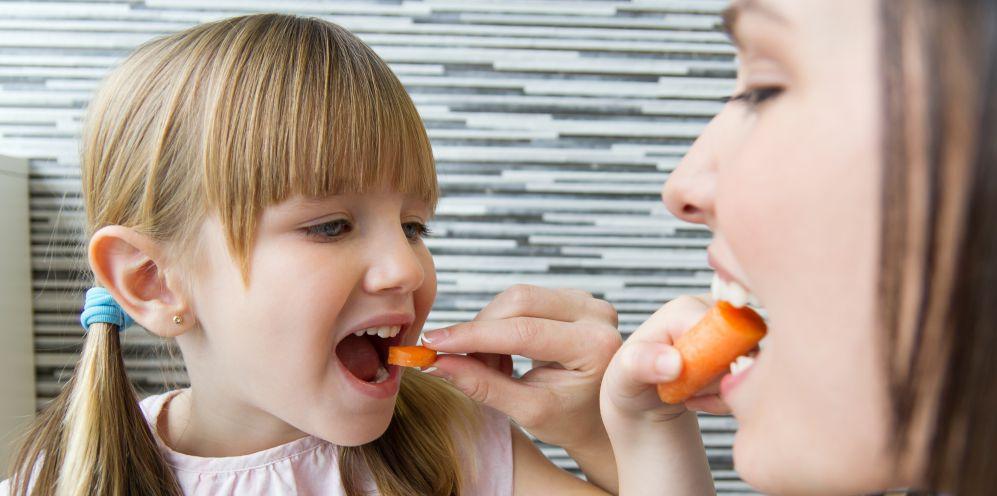 10 trucos para que los niños coman de todo