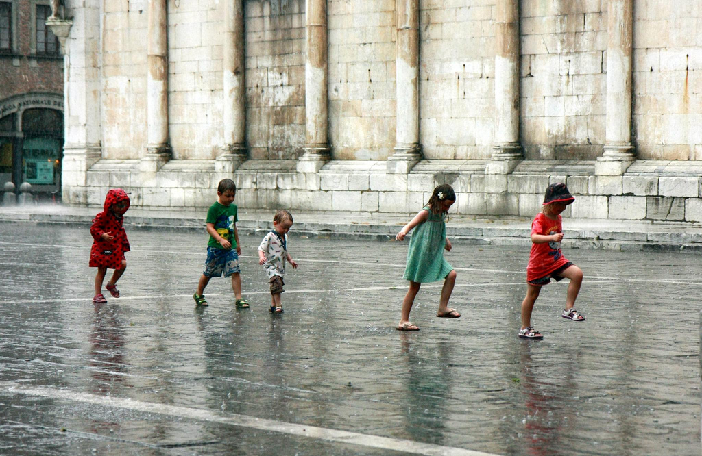 Foto Actividades divertidas para un día de lluvia
