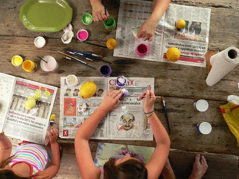 Foto de la entrada:Actividades veraniegas para hacer con niños y niñas en casa