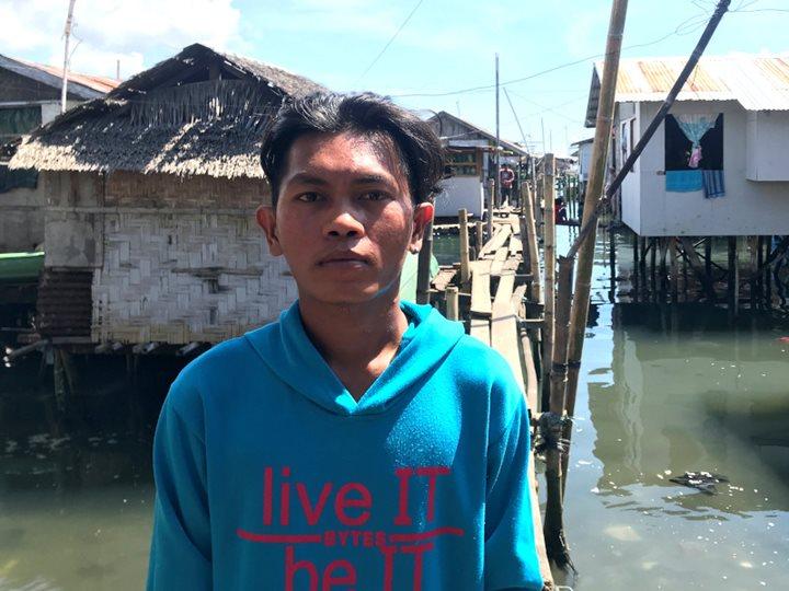 El aprendiz de pescador que compagina el mar con la poesía
