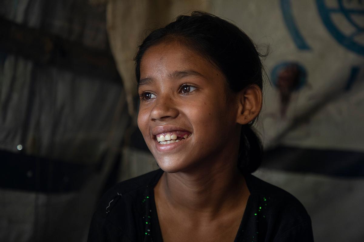 Recuerdos de brutalidad en medio de una pandemia; una realidad para una niña refugiada rohinyá
