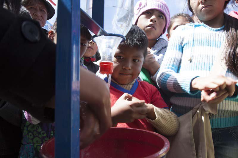 La sequía en Bolivia está causando problemas de salud a los niños y niñas del país