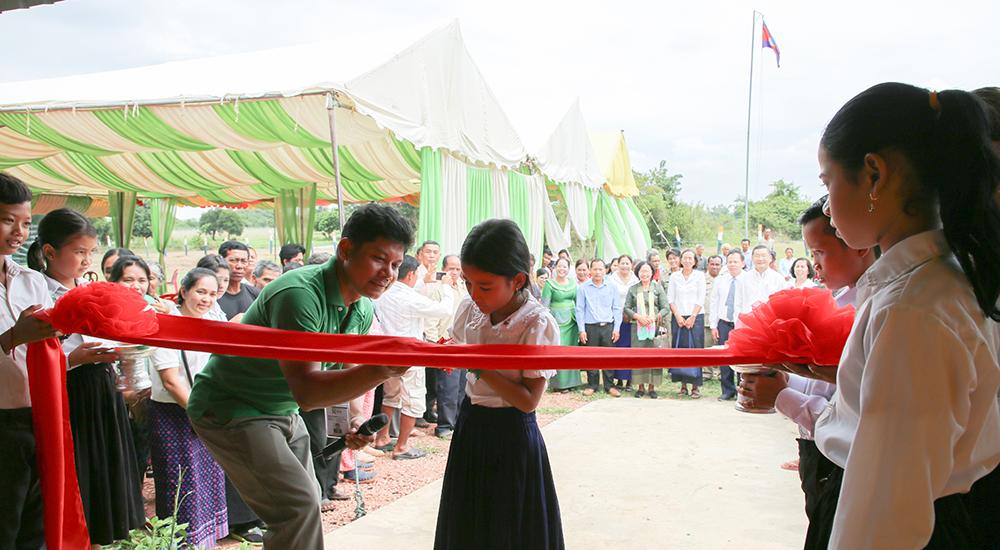 Foto de la entrada:Estrenamos escuelas en Camboya