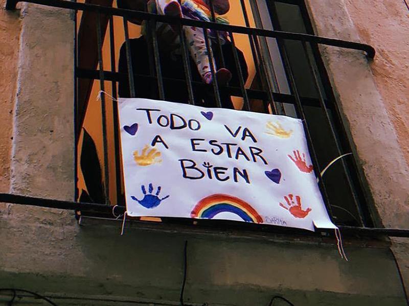Foto Ejemplos de solidaridad en momentos de coronavirus