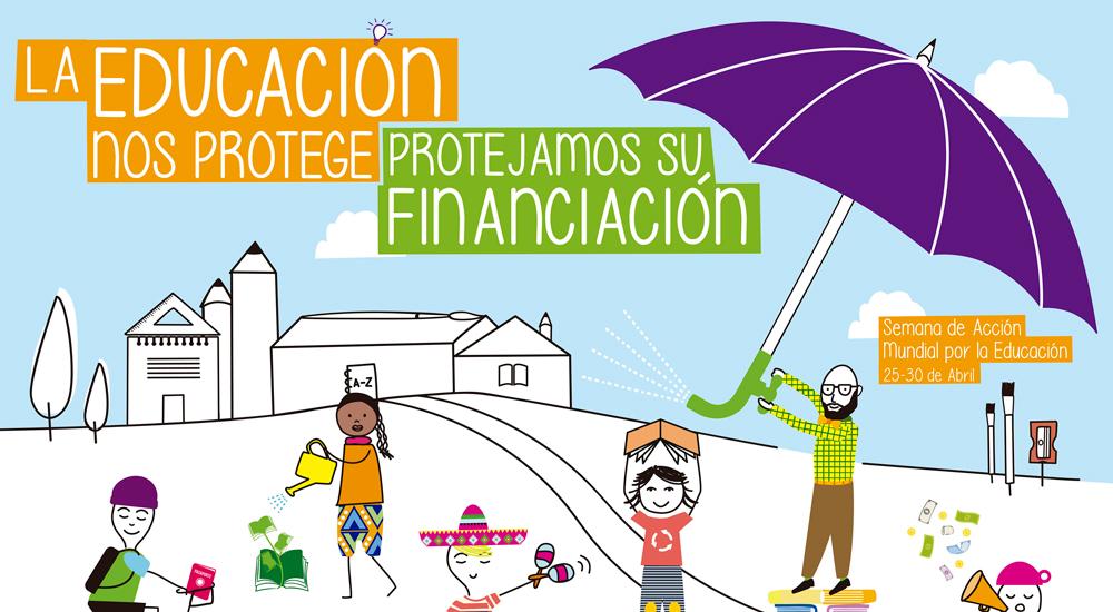 """Una """"paraguada"""" por la educación"""