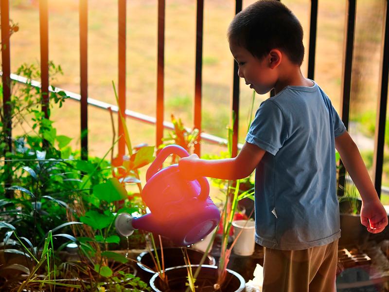 Foto Actividades sobre el cuidado del agua para niños