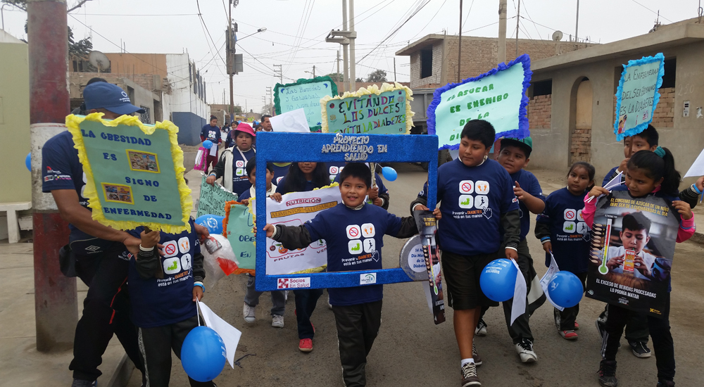 Foto de la entrada:Niños más sanos en las escuelas de Chincha y Pisco