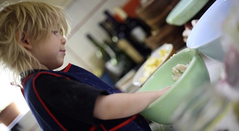 Foto de la entrada:Cocinar con niños