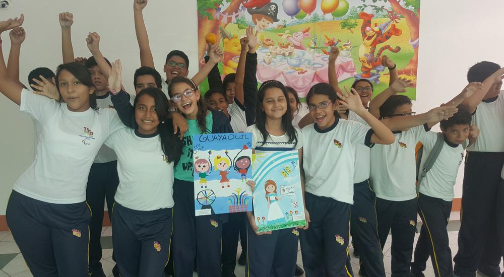 """Foto de la entrada:""""Dibujar es mi manera de decir que las niñas tenemos derechos"""""""
