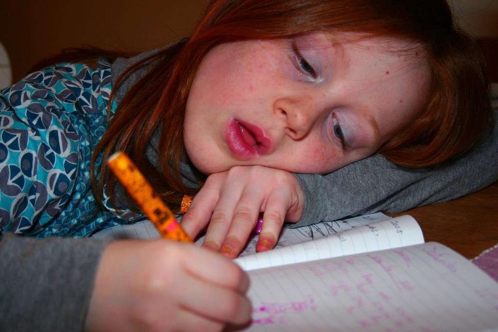 Los padres piden menos deberes