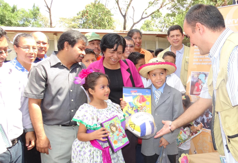 Image post Las escuelas de Nicaragua estrenan material didáctico
