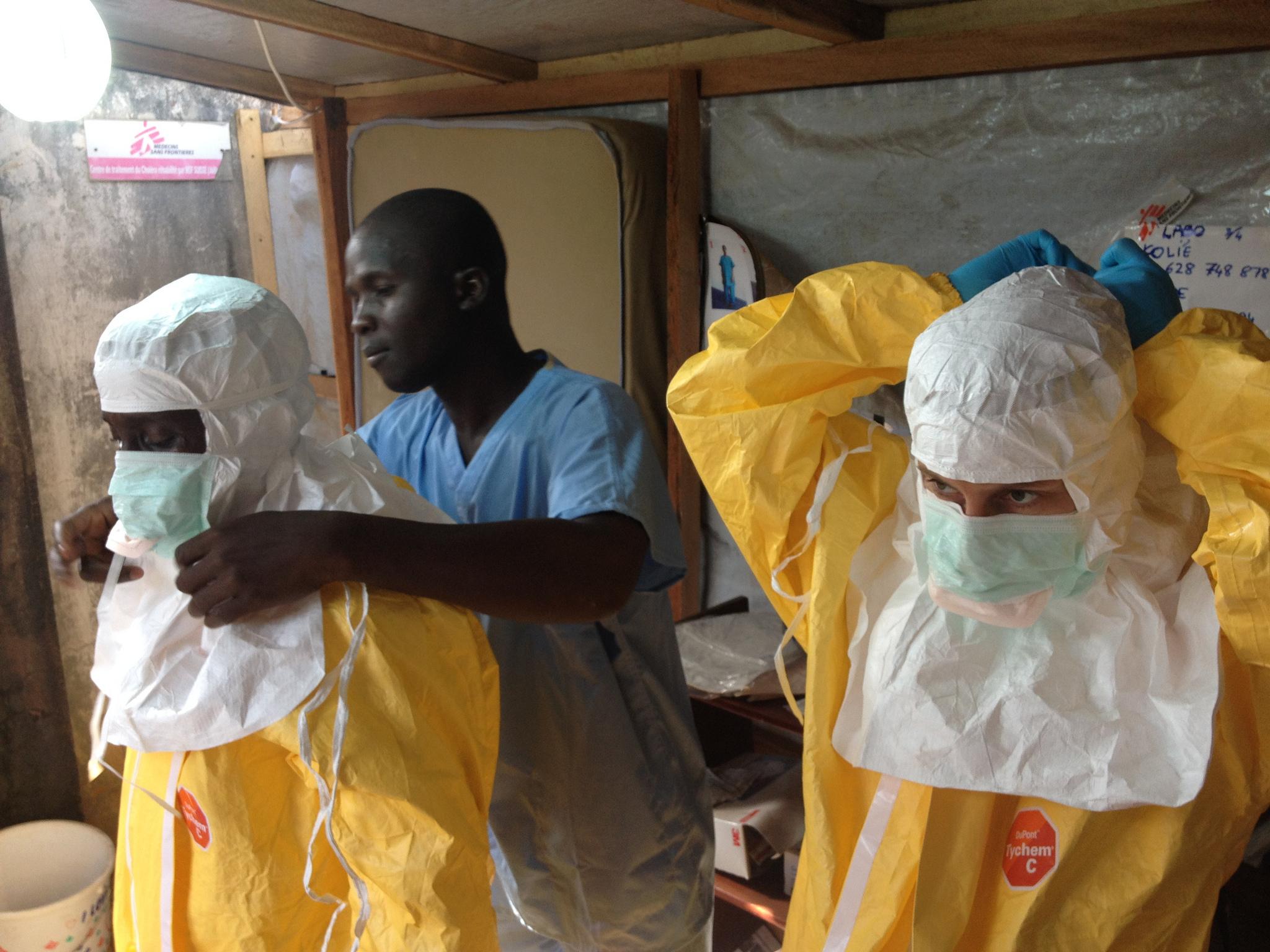 Foto de la entrada:Atentos a la evolución del Ébola