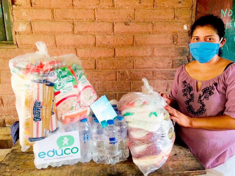 Foto Coronavirus: Alimentación, higiene y juegos para la infancia salvadoreña