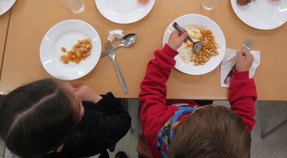 Becas comedor: mucho más que una comida completa al día