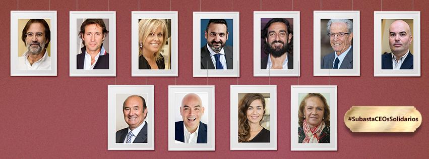 Subasta de CEOs Solidarios: ¡Adjudicados!