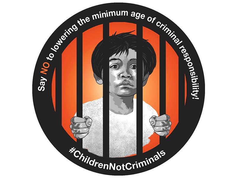 Foto Los niños deben estar en la escuela, no en la cárcel