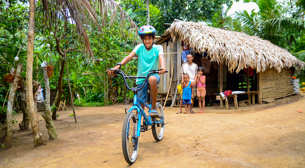 Una bicicleta para Boy