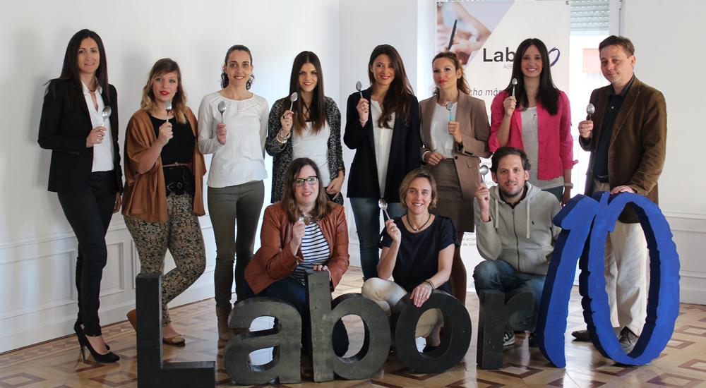 Image post Labor10 se compromete con el programa de becas comedor con sus cucharas solidarias