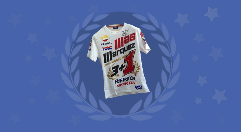 Image post ¡Ya tenemos ganador del sorteo de la camiseta firmada por Marc Márquez!