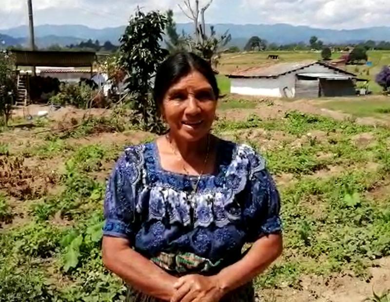 """Foto de la entrada:""""El huerto nos ayuda a tener alimentos, principalmente en esta época de la enfermedad"""""""