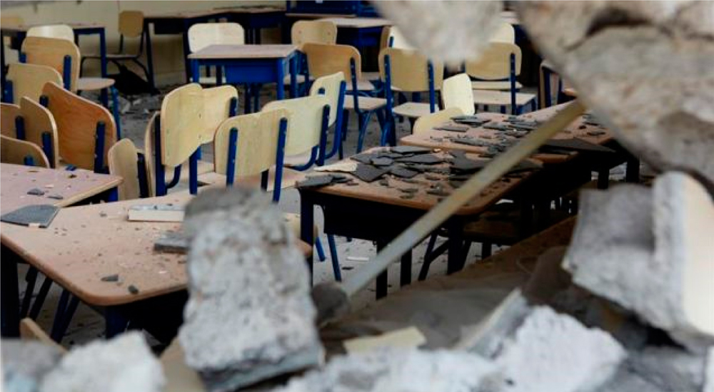 Ecuador: escuelas dañadas tras el terremoto